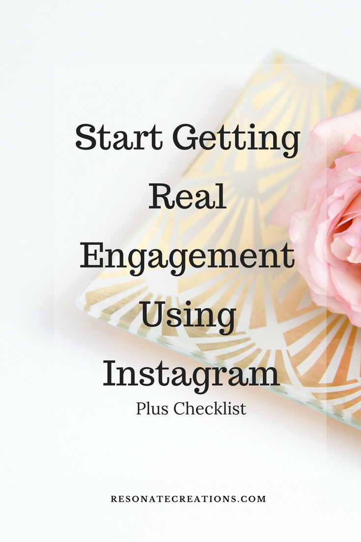 Start getting real engagement