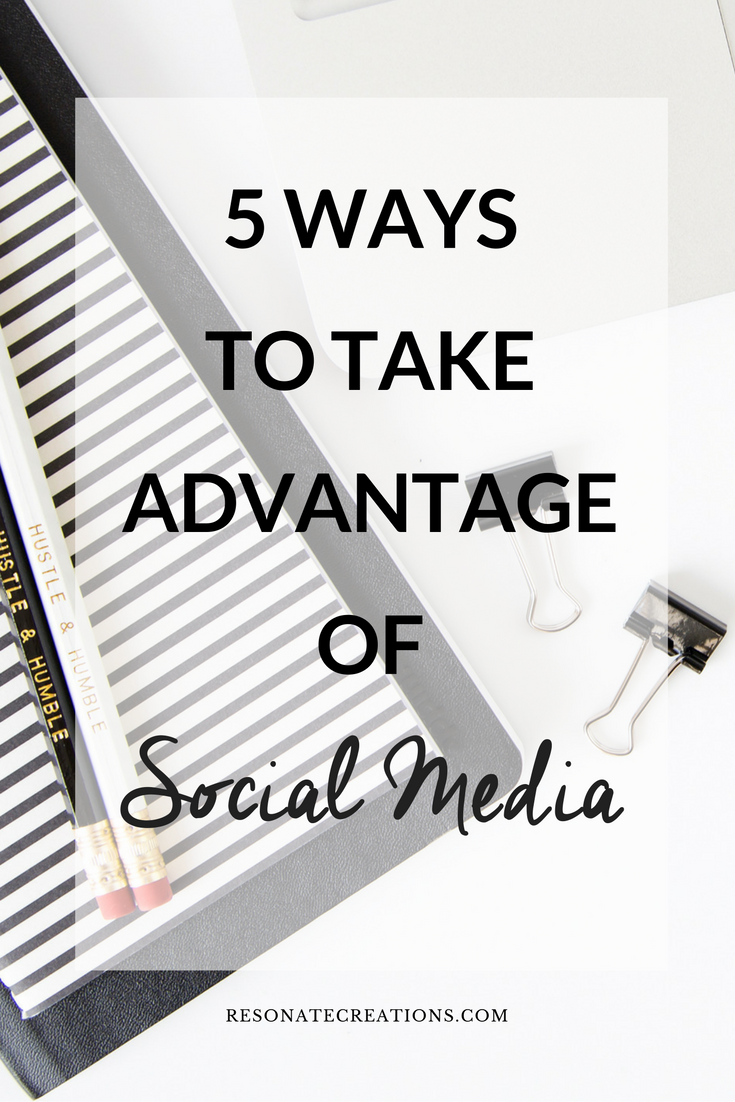 5 ways to take advantage
